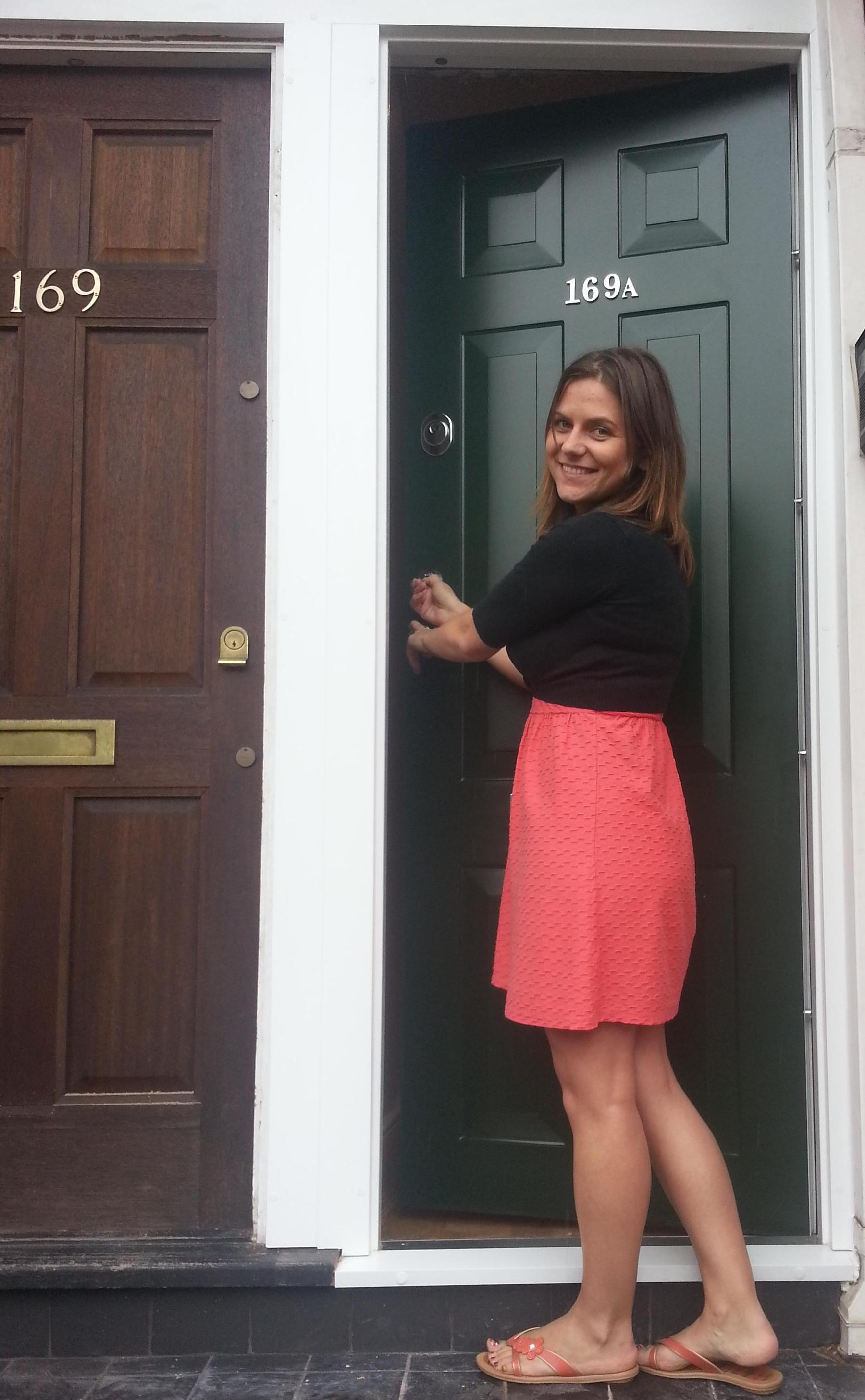 """"""" My new fabulous front door """""""